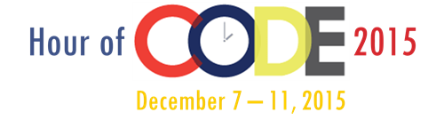 Hour of Code 2015 Logo